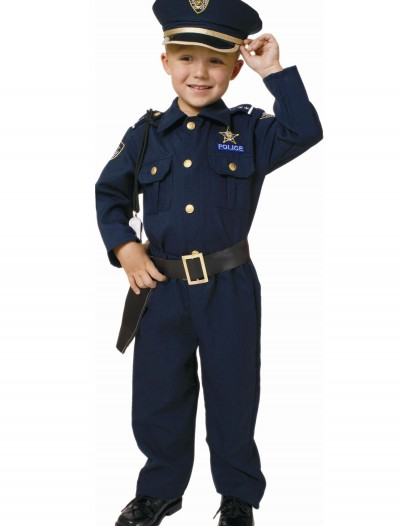 Toddler Deluxe Police Officer Costume buy now