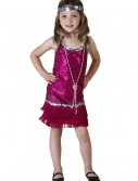 Toddler Fuchsia Flapper Costume buy now