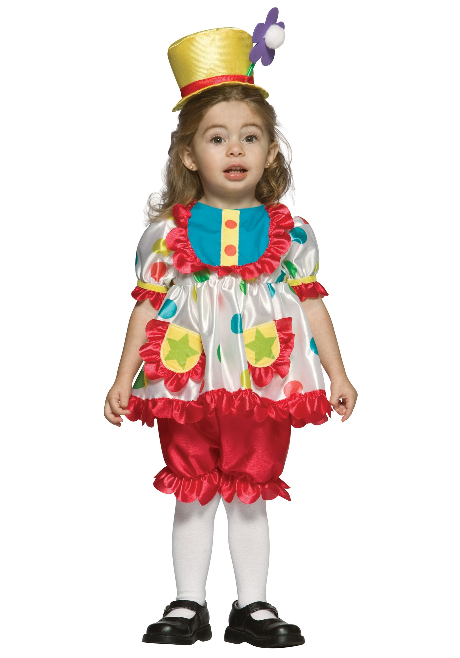 Toddler Girls Clown Costume  sc 1 st  Halloween Costumes & Toddler Girls Clown Costume - Halloween Costumes