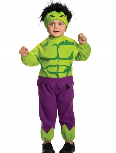 Toddler Hulk Fleece Jumpsuit buy now
