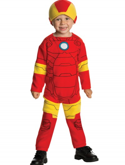 Toddler Iron Man Fleece Jumpsuit buy now
