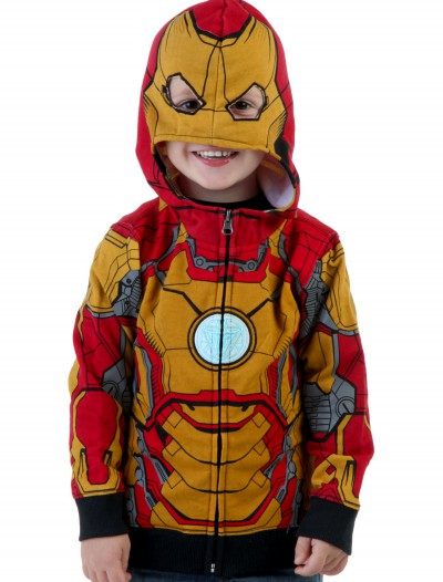 Toddler Iron Man Mark 42 Hoodie buy now