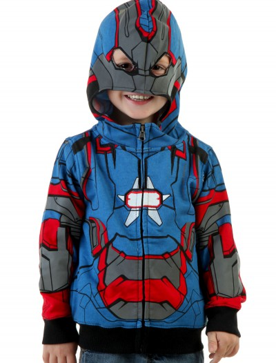 Toddler Iron Patriot Costume Hoodie buy now