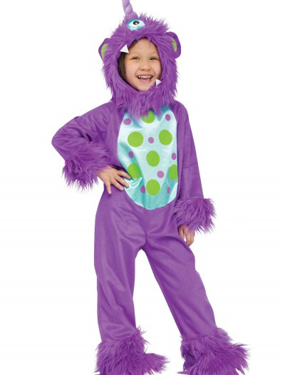 Toddler Lil Monster Purple Costume buy now