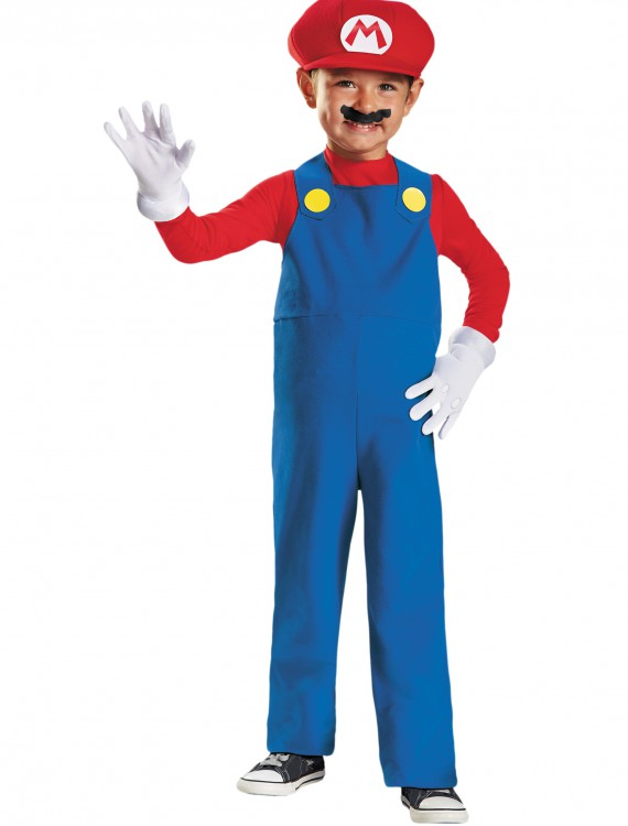 Toddler Mario Costume buy now