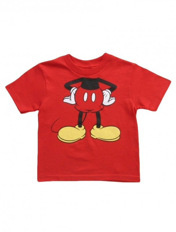 Toddler Mickey Mouse Costume T-Shirt buy now