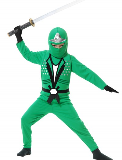 Toddler Ninja Avengers Series II Green Costume buy now