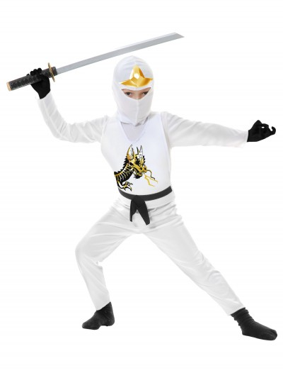 Toddler Ninja Avengers Series II White Costume buy now