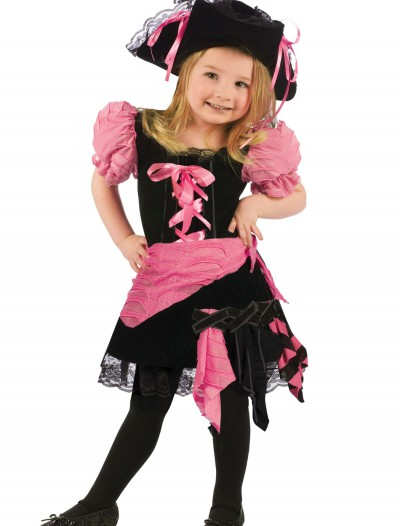 Toddler Pink Punk Pirate Costume buy now