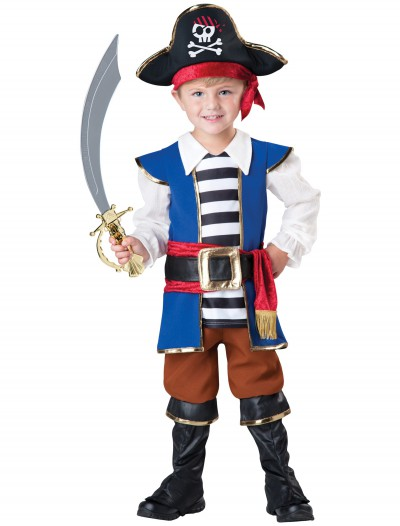 Toddler Pirate Captain Costume buy now