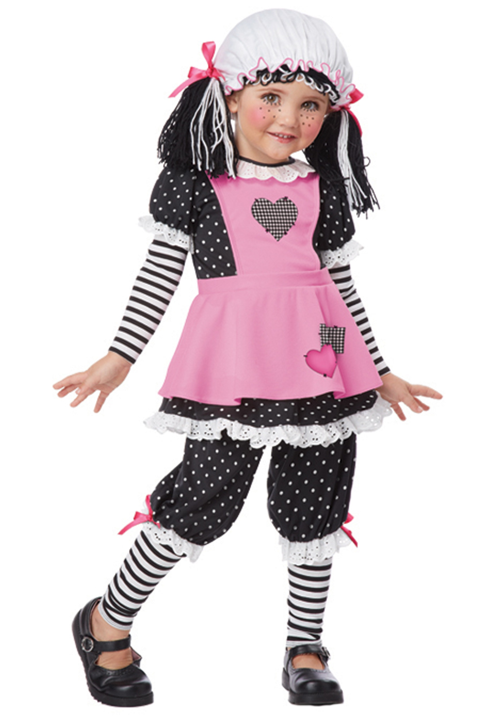 Toddler Rag Dolly Costume  sc 1 st  Halloween Costumes & Toddler Rag Dolly Costume - Halloween Costumes
