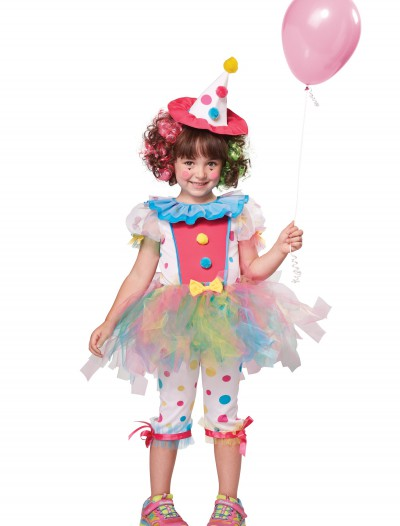 Toddler Rainbow Clown Costume buy now