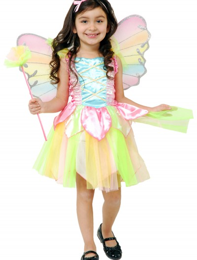Toddler Rainbow Fairy Costume buy now