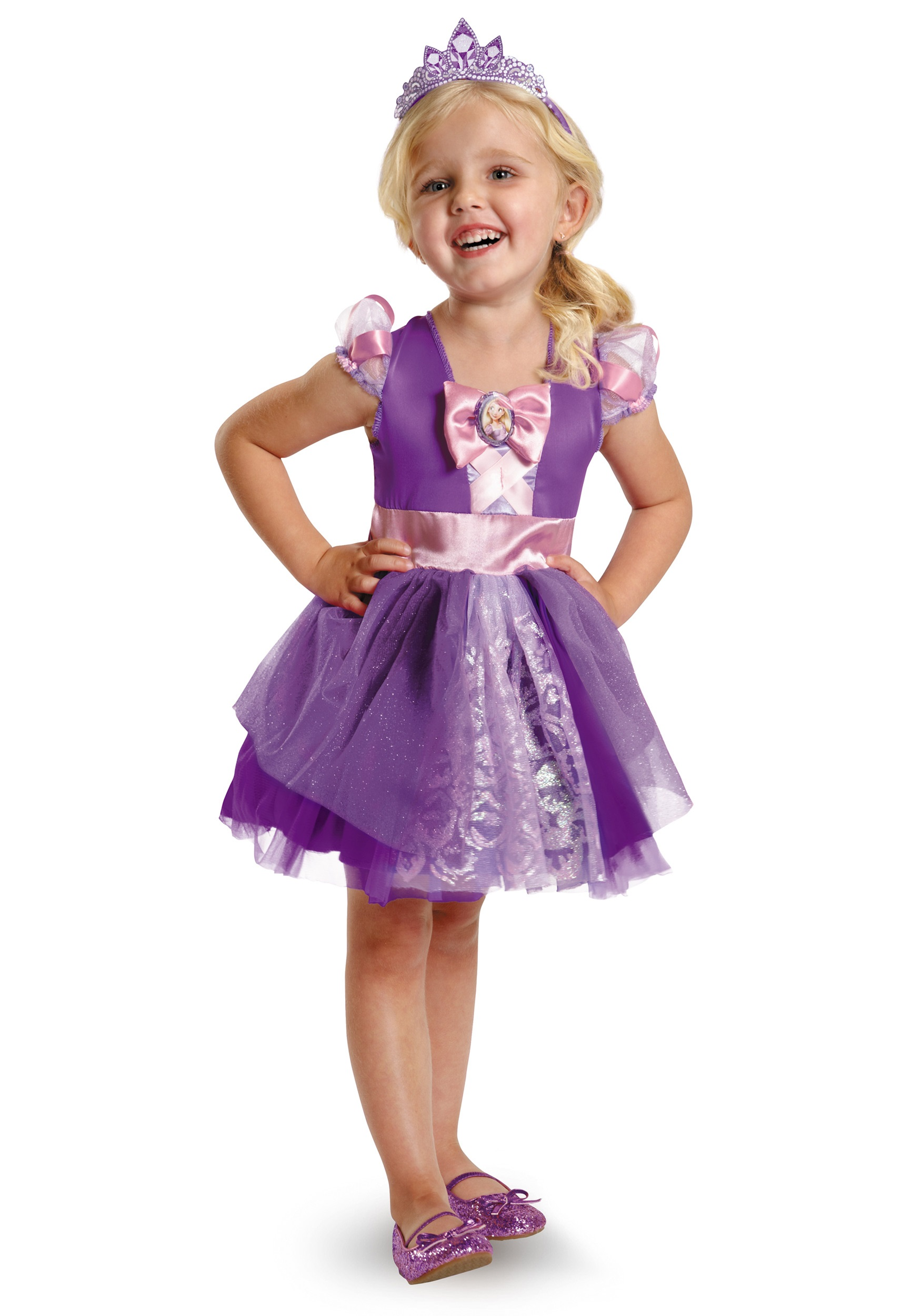 Toddler Rapunzel Ballerina Classic Costume  sc 1 st  Halloween Costumes : ballerina halloween costume for kids  - Germanpascual.Com