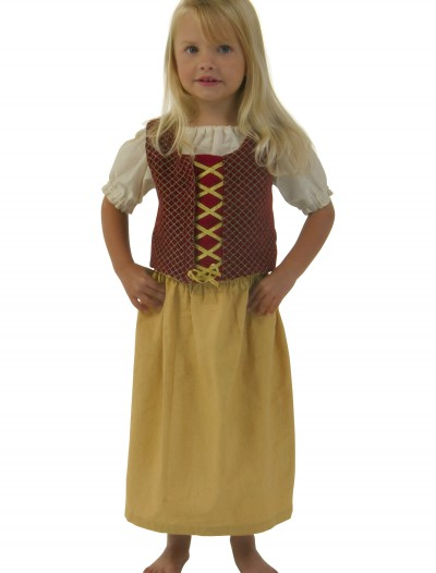 Toddler Red Peasant Dress buy now