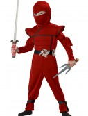 Toddler Red Stealth Ninja Costume buy now