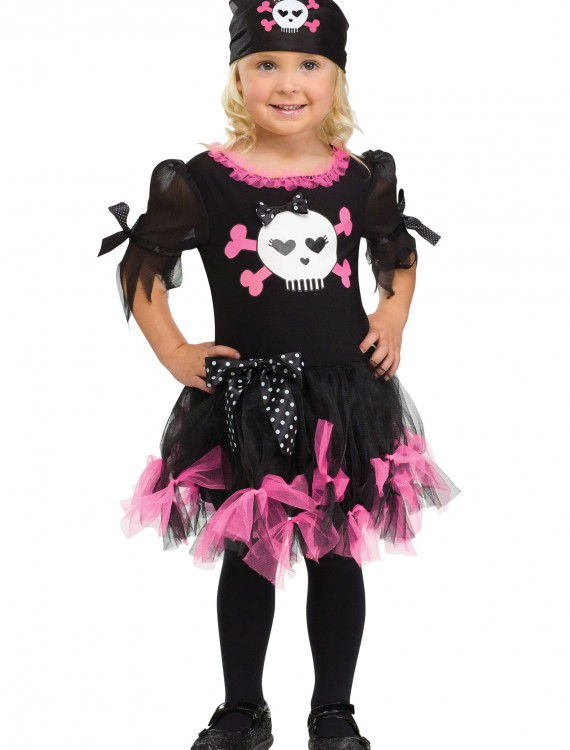 Toddler Sally Skully Pirate Costume buy now