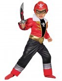 Toddler Super Megaforce Red Power Ranger Muscle Costume buy now