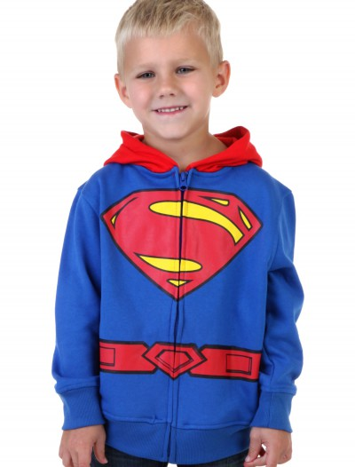 Toddler Superman Logo Costume Hoodie buy now