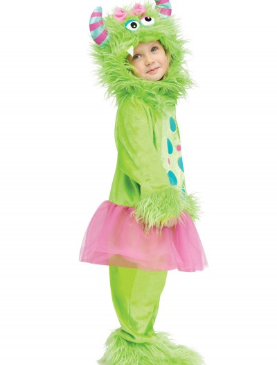Toddler Terror in a Tutu Green Costume buy now