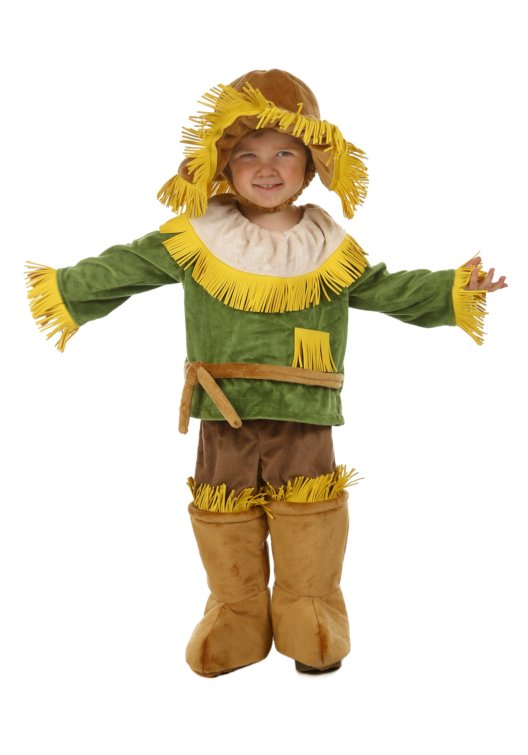Child Wizard Of Oz Cuddly Scarecrow Costume Halloween Costumes