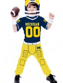 Toddler University of Michigan Football Costume buy now