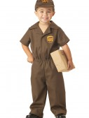 Toddler UPS Delivery Costume buy now