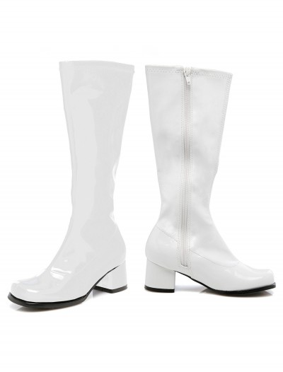 Toddler White Gogo Boots buy now