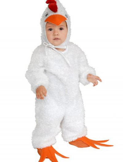 Toddler White Rooster Costume buy now