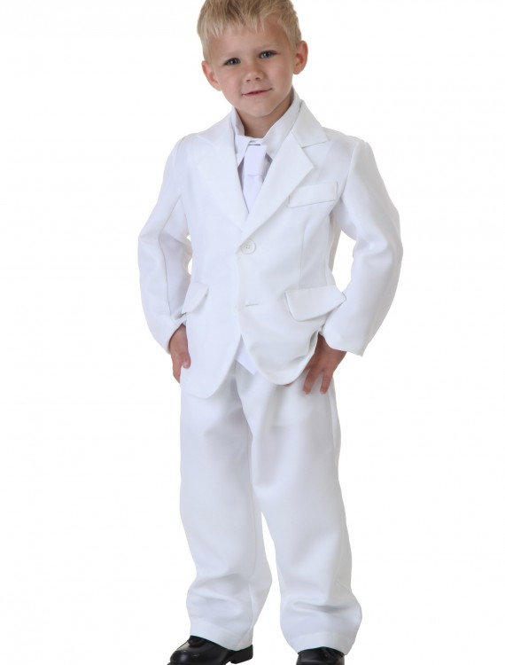 Toddler White Suit Costume buy now
