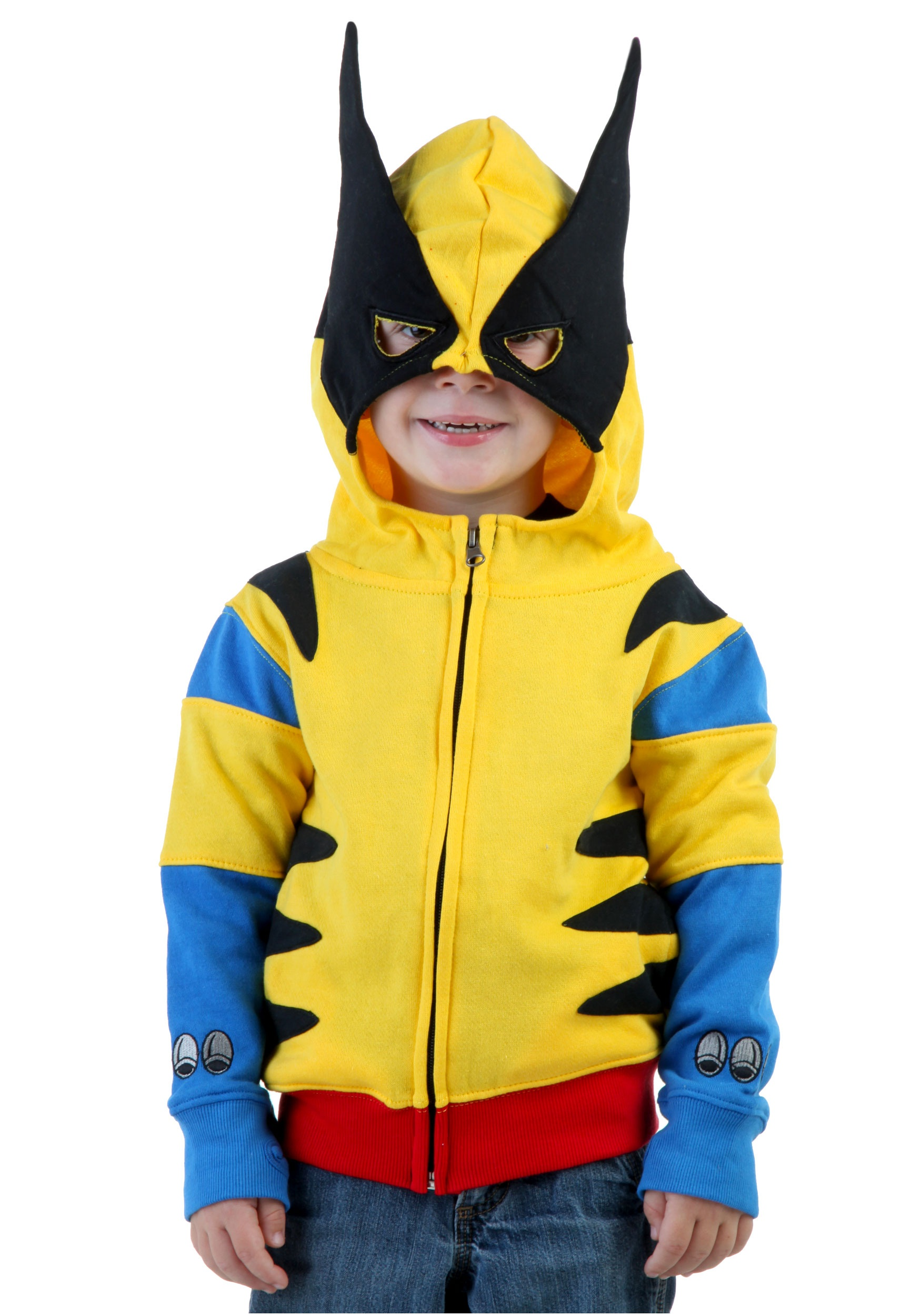 Toddler Wolverine Costume Hoodie  sc 1 st  Halloween Costumes & Toddler Wolverine Costume Hoodie - Halloween Costumes