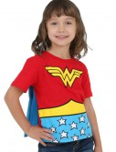 Toddler Wonder Woman Cape T-Shirt buy now