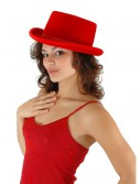 Red Velour Top Hat buy now