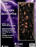 Torn Creepy Door Decoration buy now