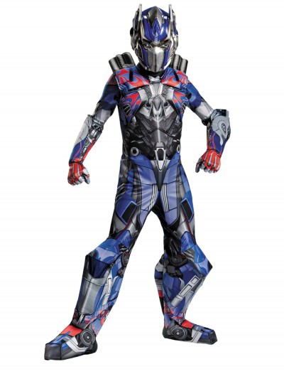 Transformers 4 Boys Optimus Prime Prestige Costume buy now
