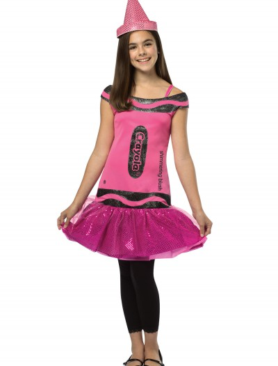 Tween Crayola Blush Glitz Dress buy now