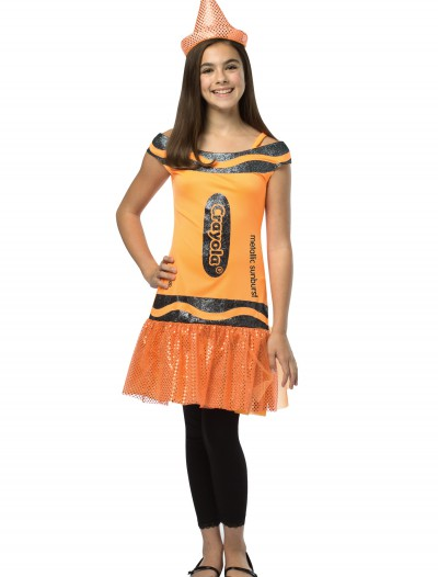 Tween Crayola Metallic Sunburst Glitz Dress buy now