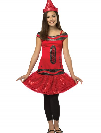 Tween Crayola Ruby Glitz Dress buy now