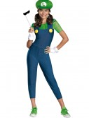 Tween Girls Luigi Costume buy now