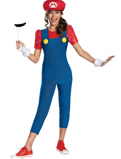 Tween Girls Mario Costume buy now