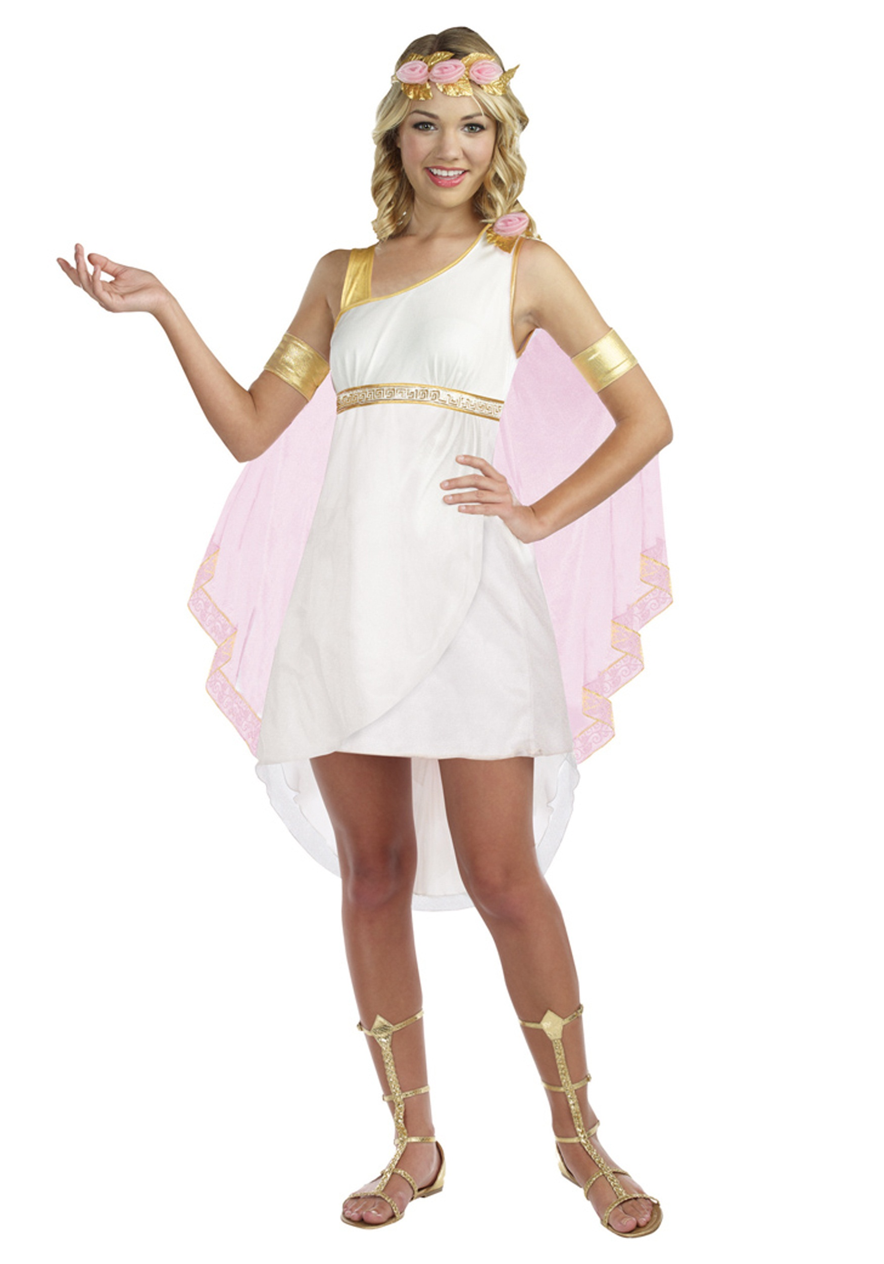 tween goddess of glam costume - halloween costumes