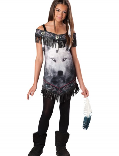 Tween Indian Tribal Spirit Costume buy now