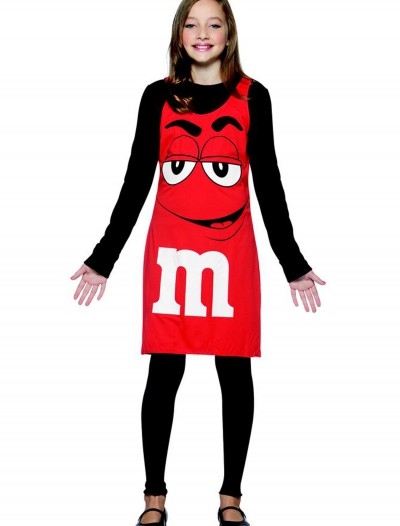 Tween M&M Red Tank Dress buy now