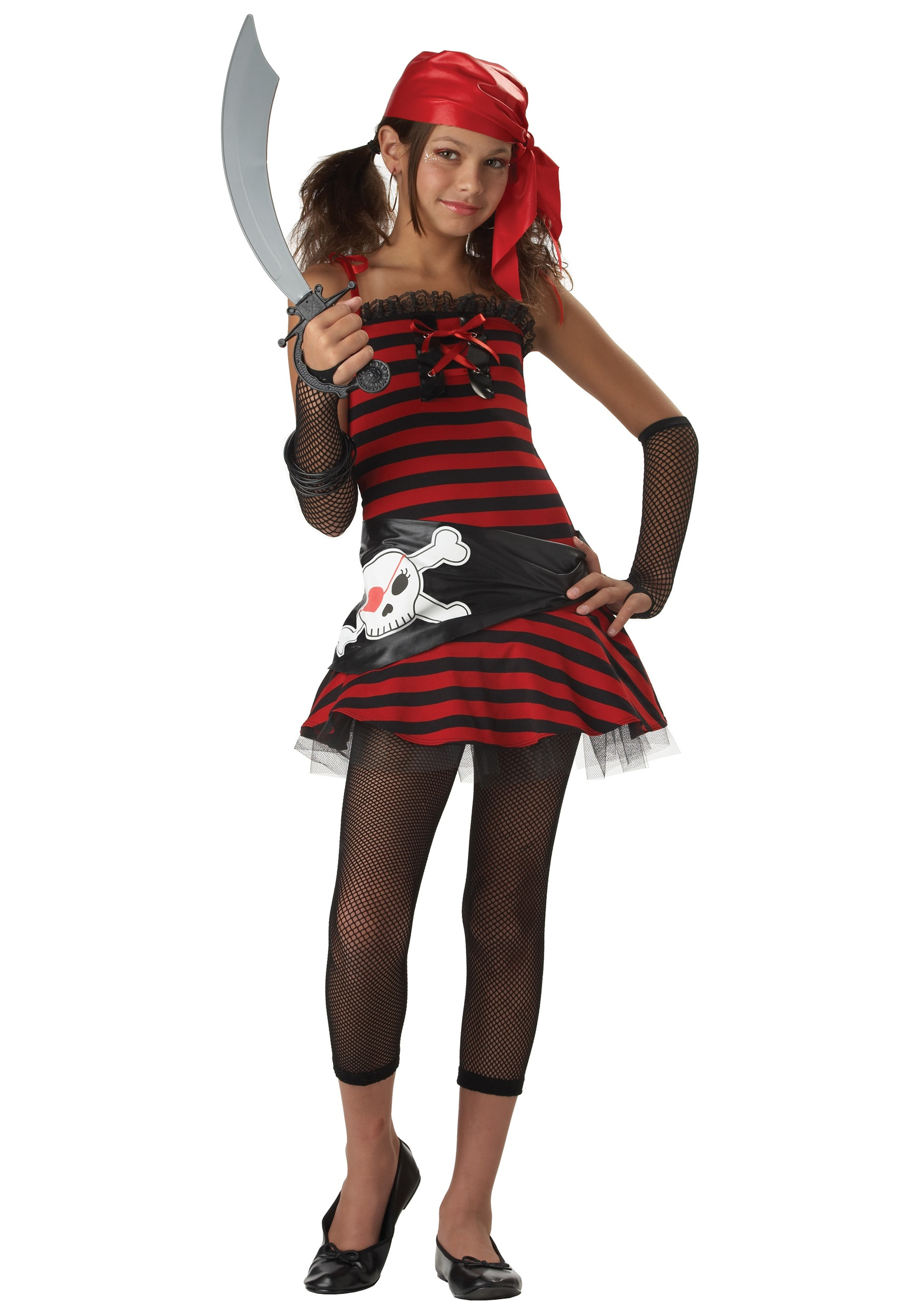 Tween Pirate Cutie Costume  sc 1 st  Halloween Costumes & Tween Pirate Cutie Costume - Halloween Costumes