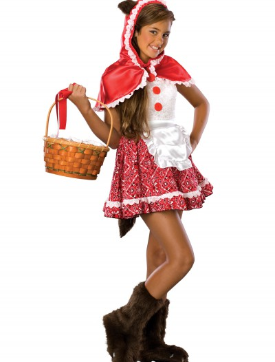 Tween Red Riding Hood Costume buy now