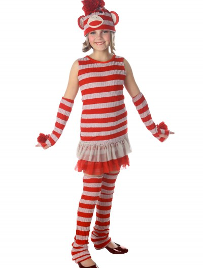 Tween Sock Monkey Costume buy now