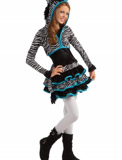 Tween Zebra Costume buy now
