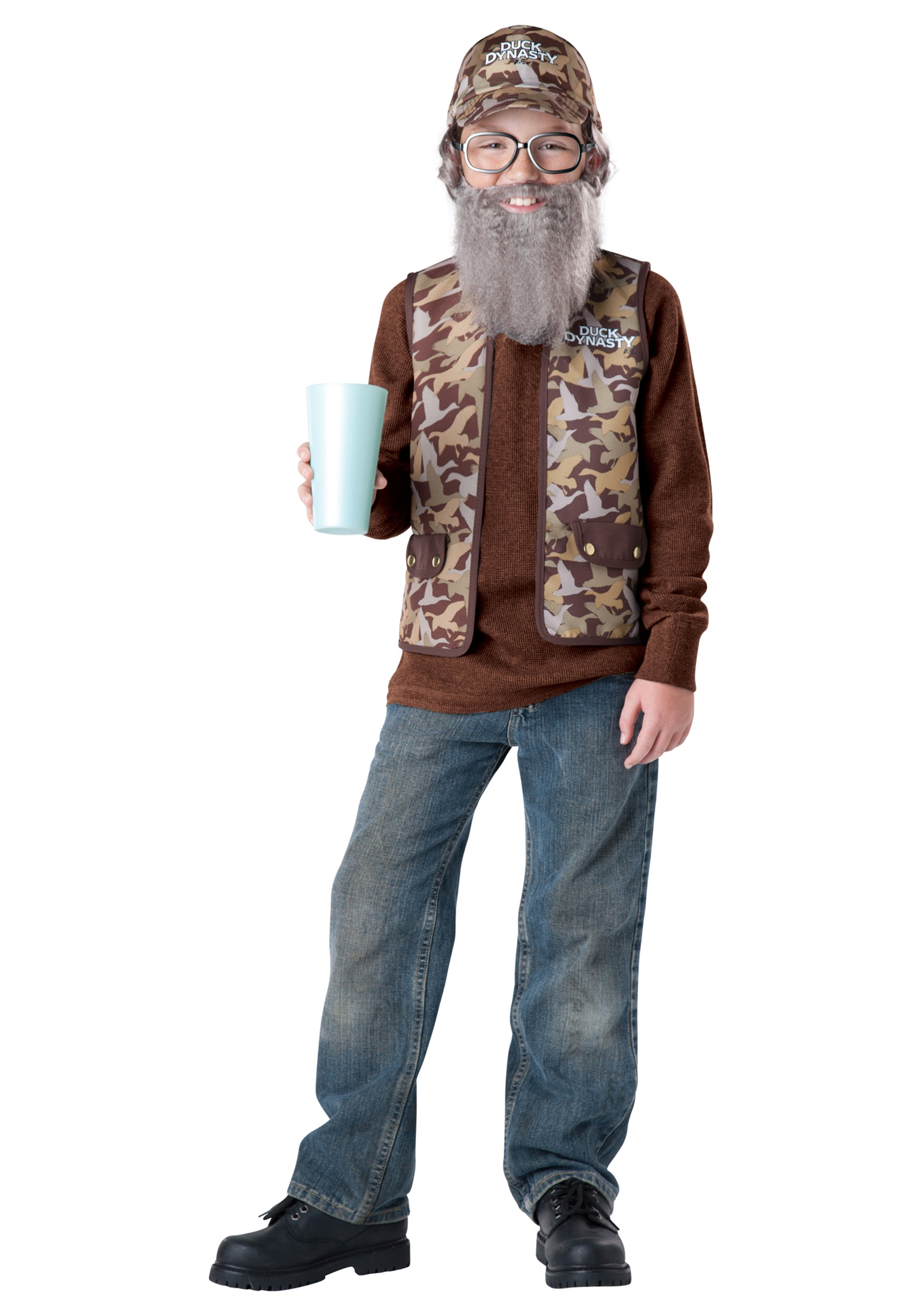 Uncle Si Child Costume  sc 1 st  Halloween Costumes & Uncle Si Child Costume - Halloween Costumes