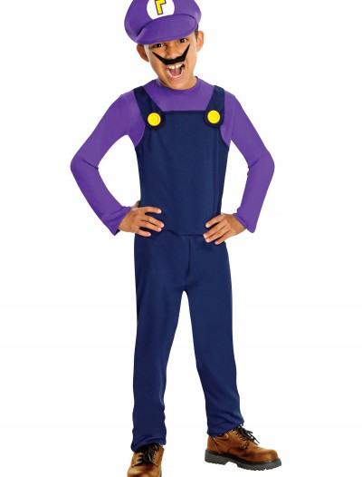 Waluigi Kids Costume buy now