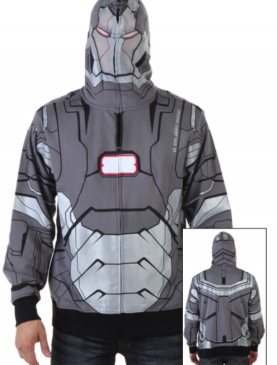 War Machine I Am Marvel Iron Man 3 Costume Hoodie buy now